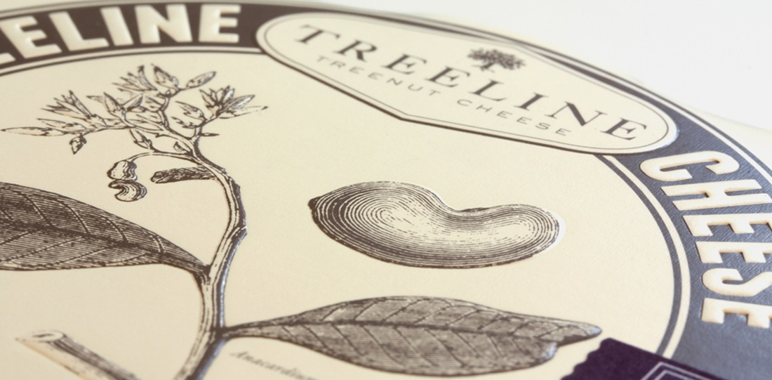 Treeline® Vegan Cheese Branding & Packaging Design