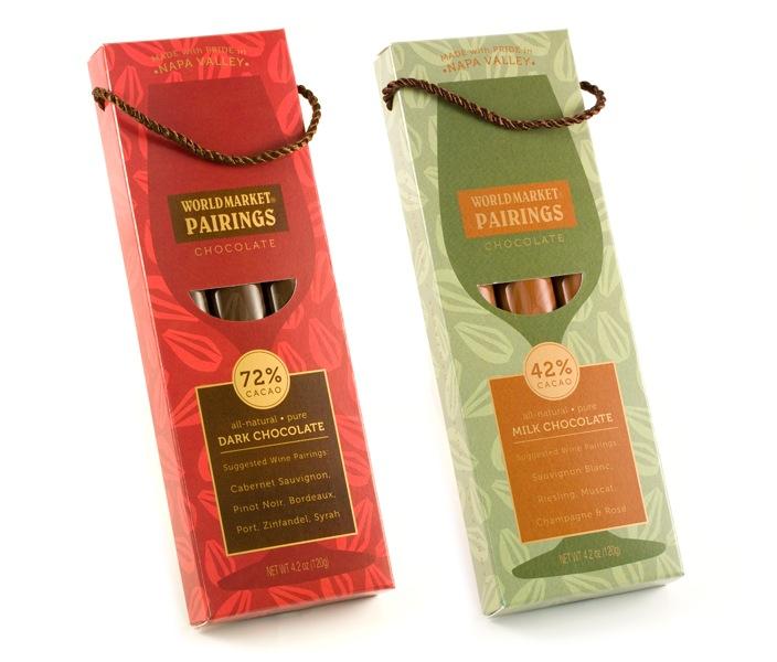 Pairings Chocolate - Naming & Packaging