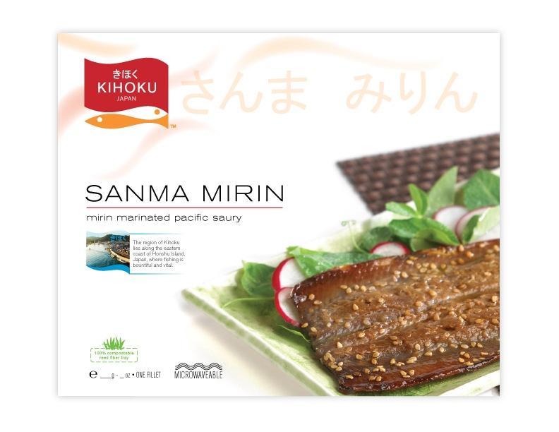 Kihoku - cured fish packaging