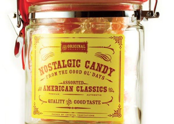 Nostalgic Candy - packaging