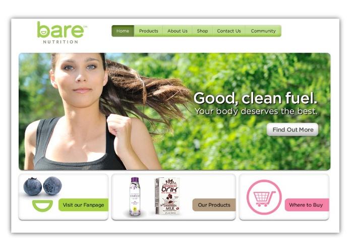 Bare Nutrition - Web