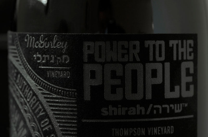 Power to the People - Wine Label