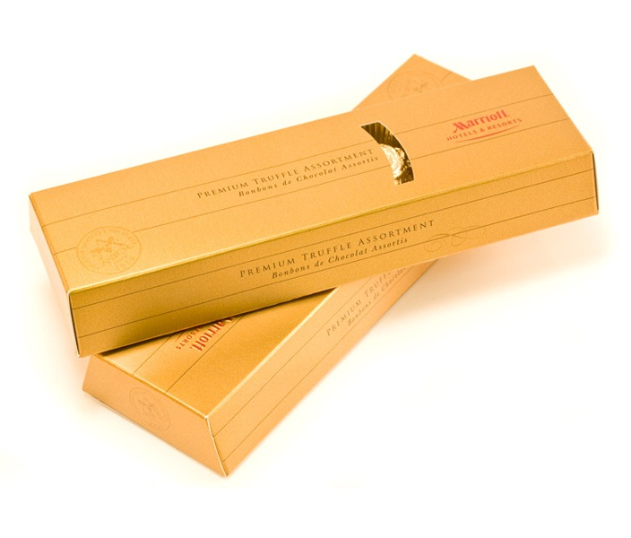 Marriott Hotel - packaging