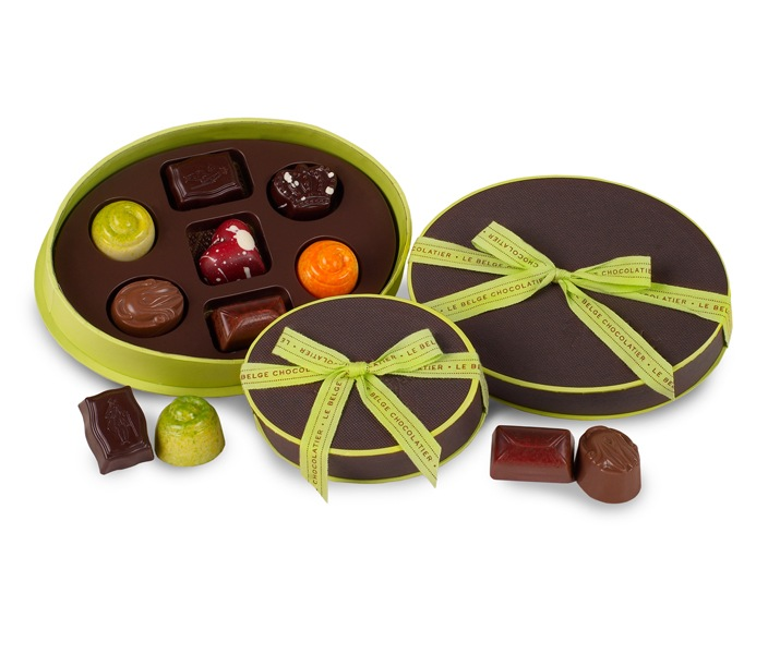 Le Belge chocolatier - chocolate packaging