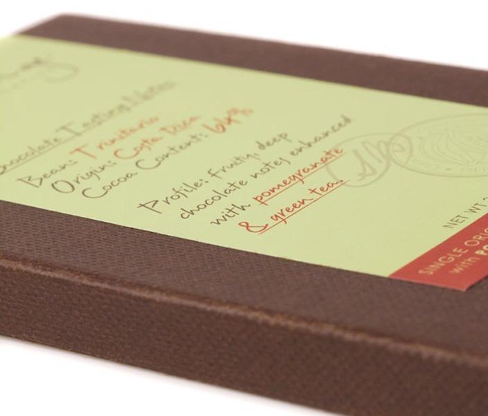Le Belge chocolatier - chocolate packaging