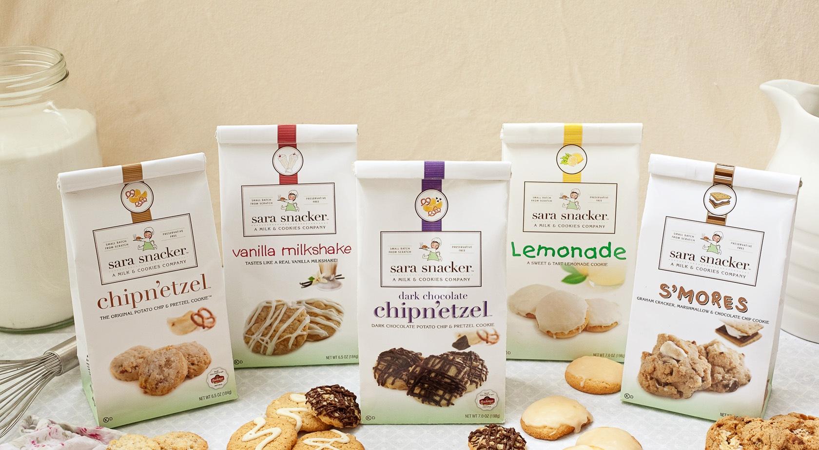 Sara Snacker Cookies - Packaging and Branding