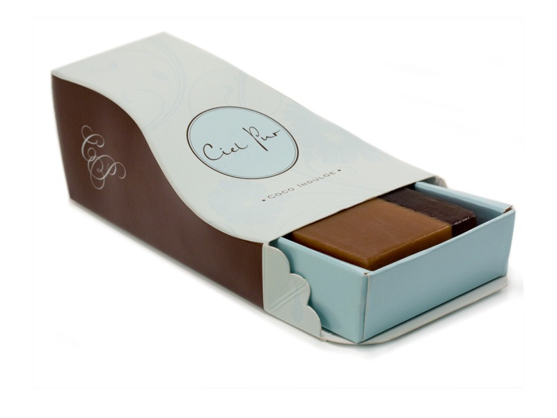 Skincare Package Design - Ciel Pur Soaps