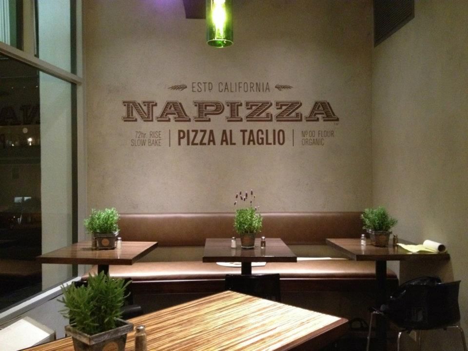 Restaurant brand identity napizza miller creative for Al saffar interior decoration llc