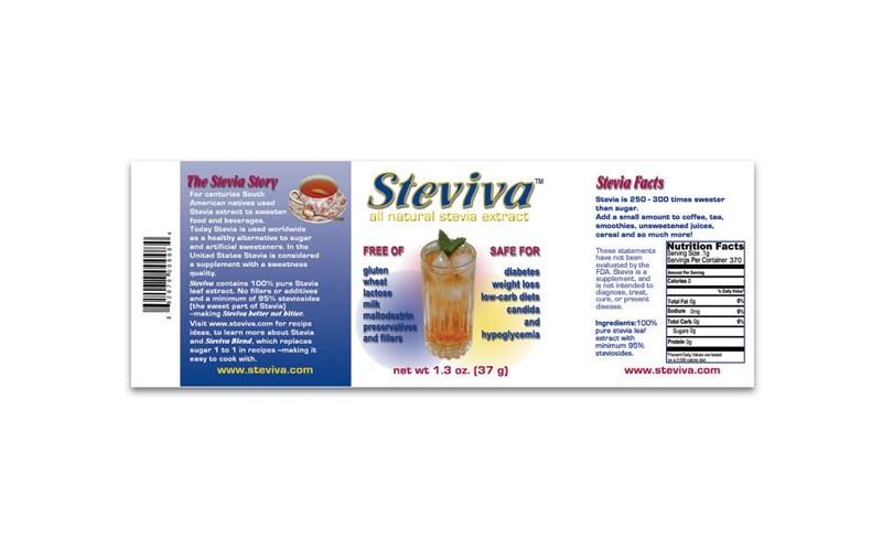 Steviva - Original Label Before Rebrand