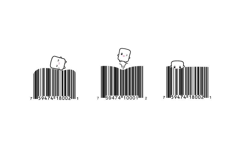 Vanity Barcodes for Elyon Marshmallows
