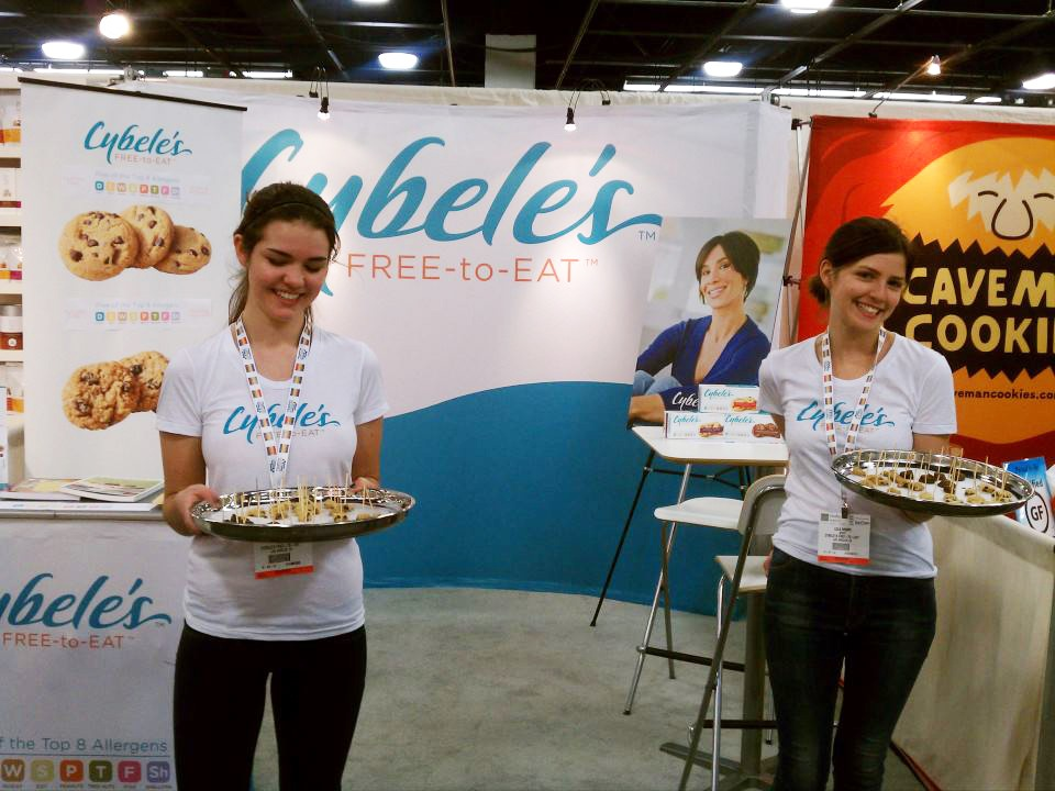 Cybele's - Wearing Shirts at Tradeshow