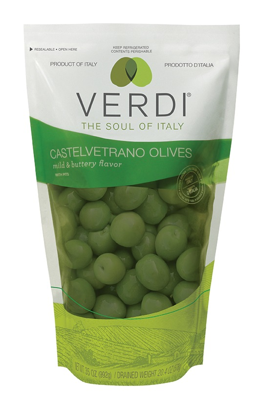 Verdi Olives - Stand-Up Pouch
