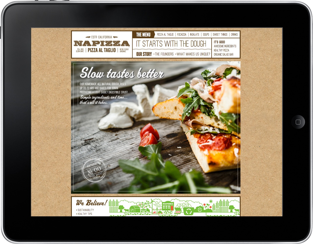Napizza Website