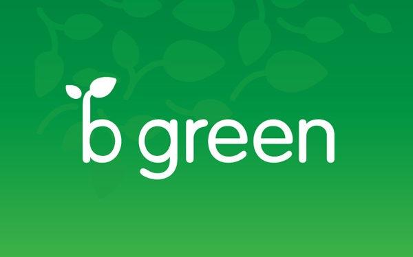 B Green Logo