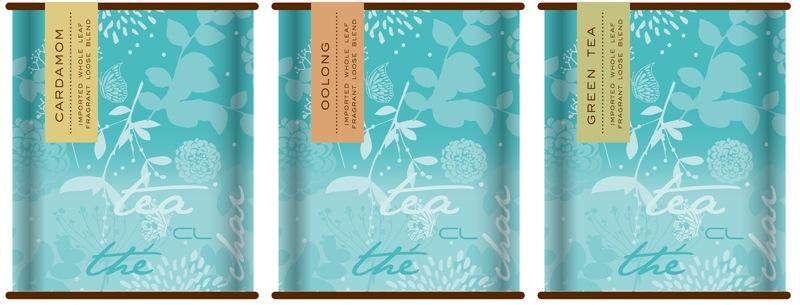 Cacao Lounge - Tea Tins