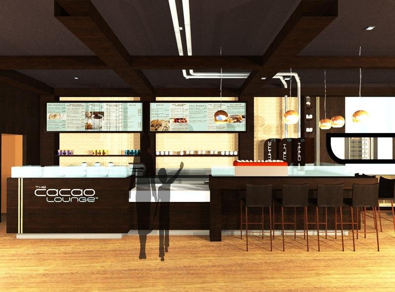 Cacao Lounge - Interior Branding