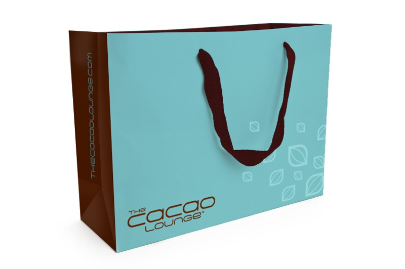 Cacao Lounge - Retail Shopping Bag