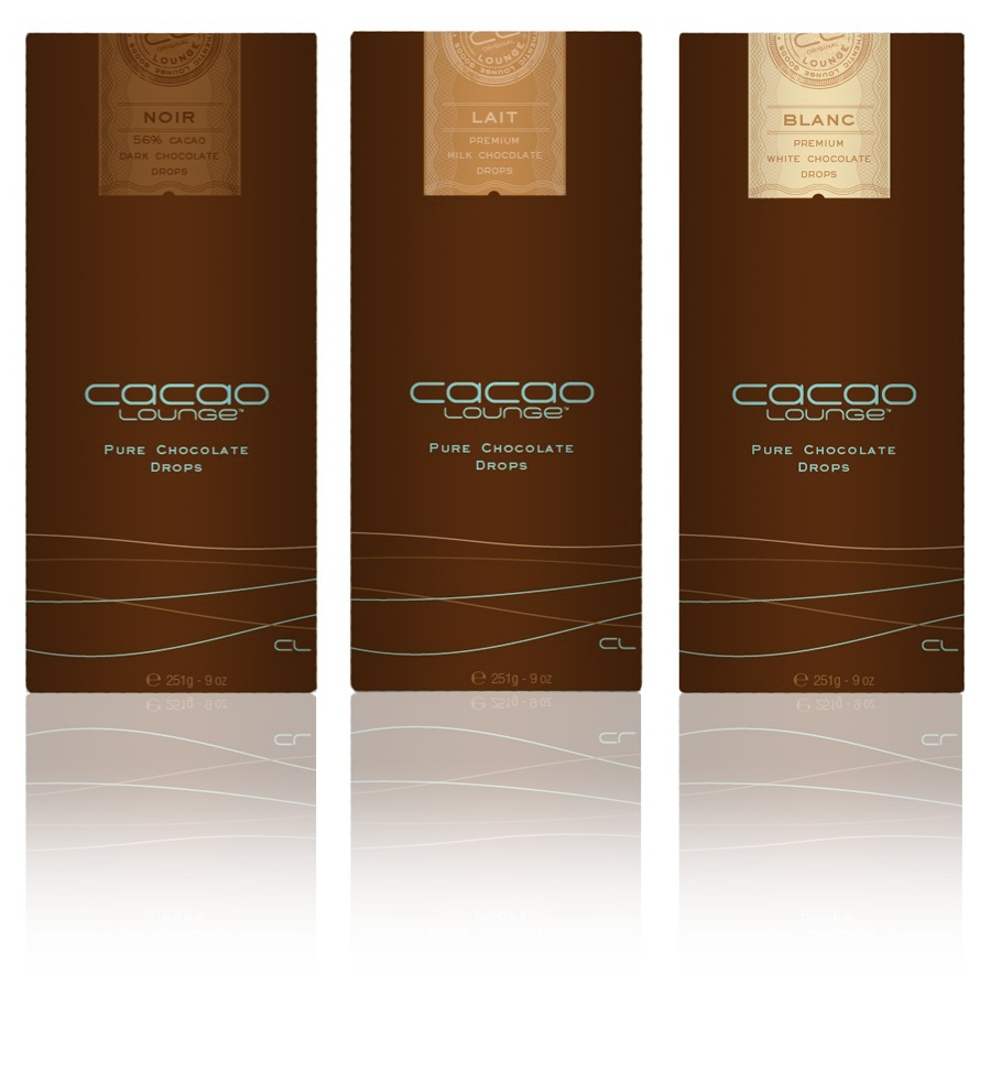 Cacao Lounge - Packaging, Chocolate Drops