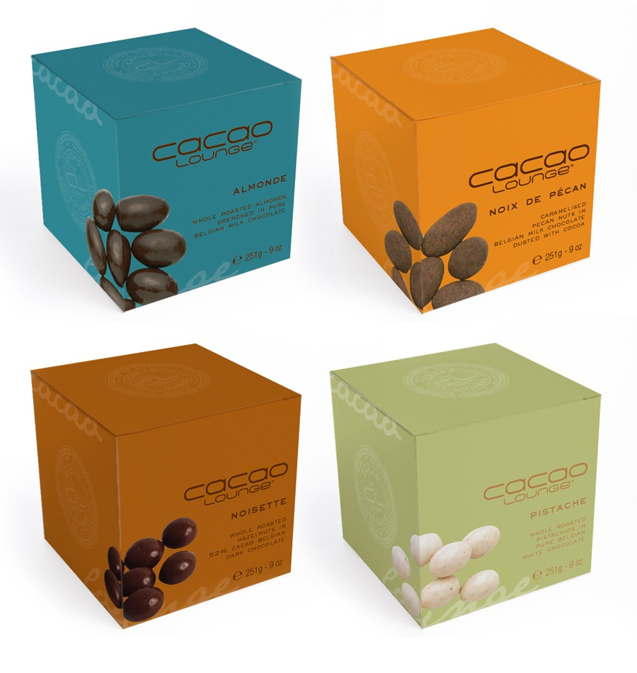 Cacao Lounge - Packaging Chocolate Coated Nuts