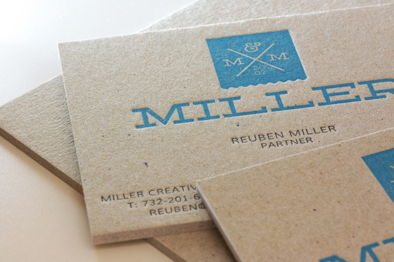 Business card design miller creative business cards colourmoves Gallery