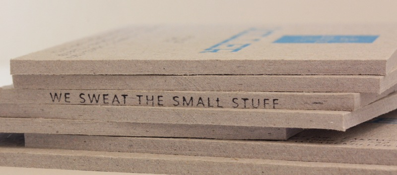Miller Creative Business Card - Rubber Stamp Detail