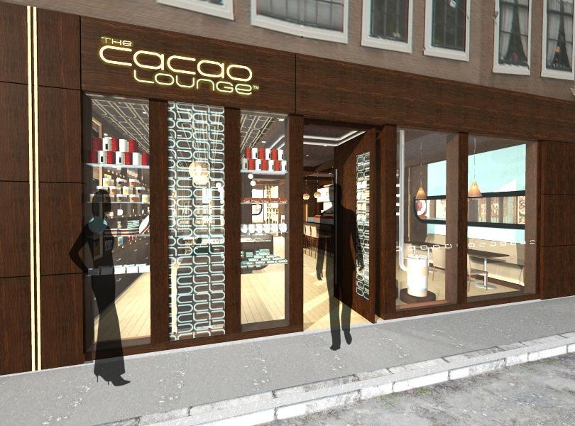 Cacao Lounge - Environmental Branding