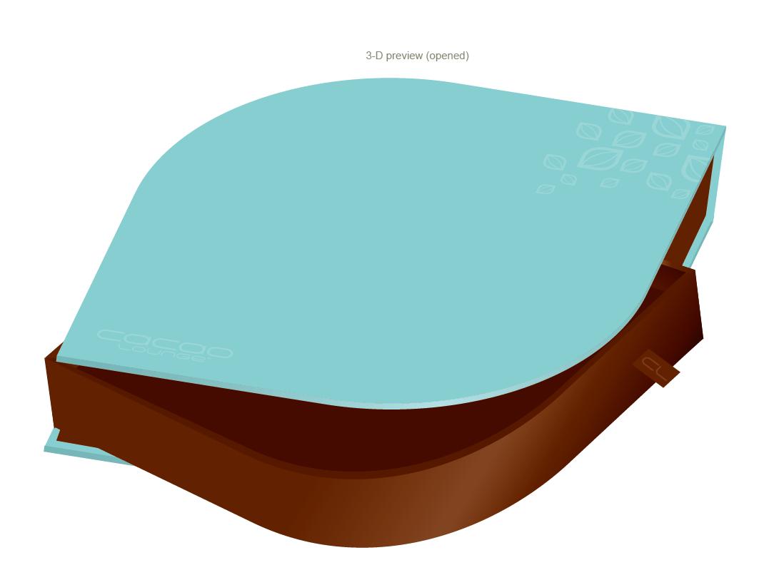 Cacao Lounge - Signature Swing-Arm Praline Box