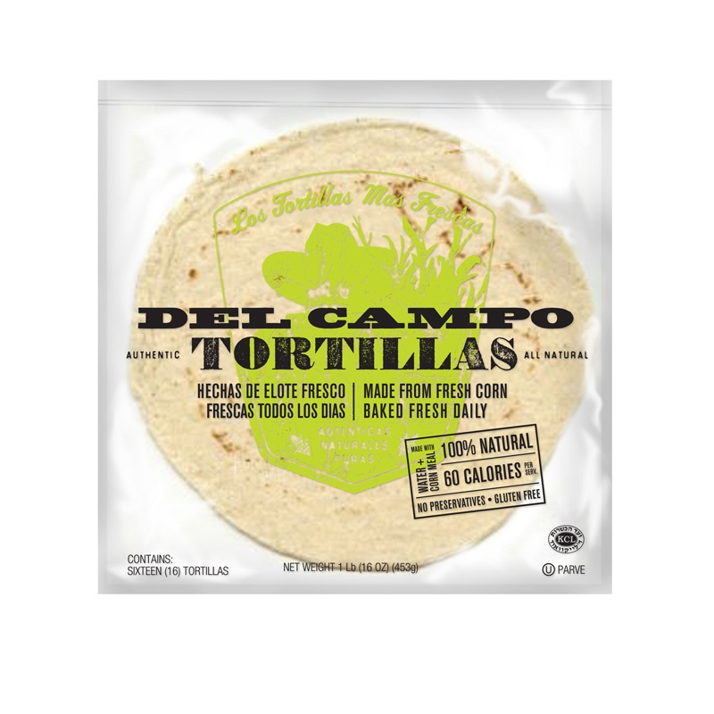 Del Campo Tortilla Bakery Packaging