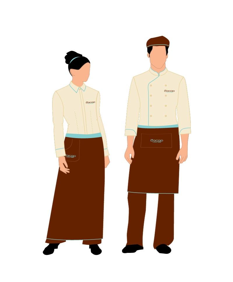 Cacao Lounge - Custom Uniform Design