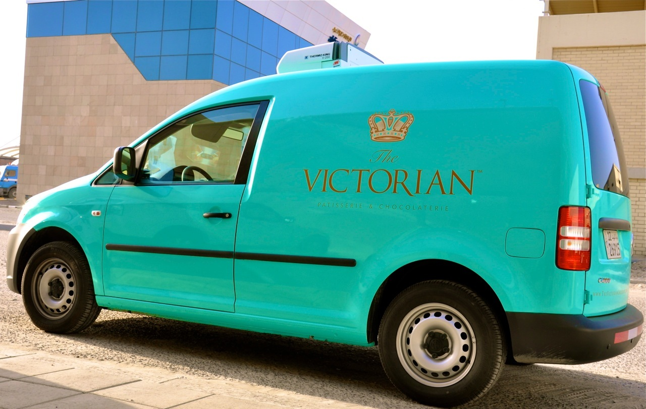 The Victorian, Kuwait - Delivery Vehicle