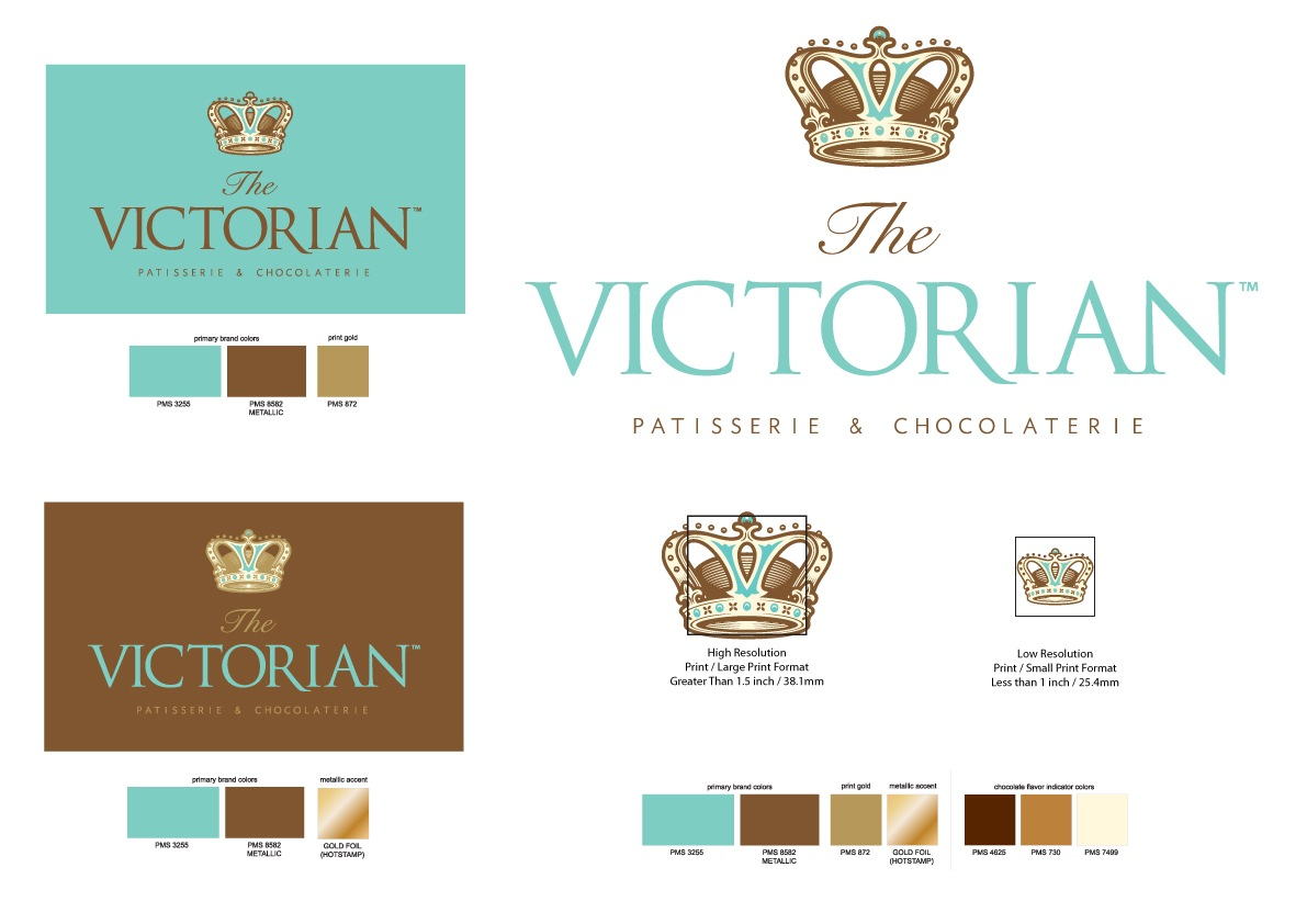 The Victorian, Kuwait - Branding Standards