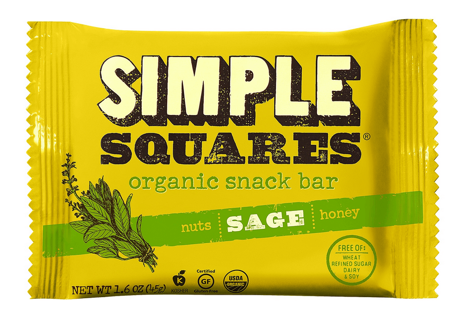 simple squares sage wrapper with custom illustration