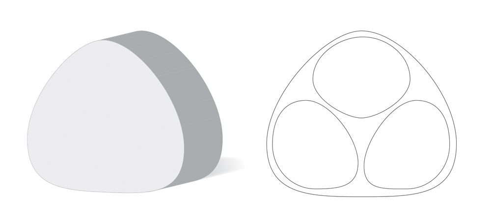 Nene Imagination Toy Packaging - Prototype Drawings