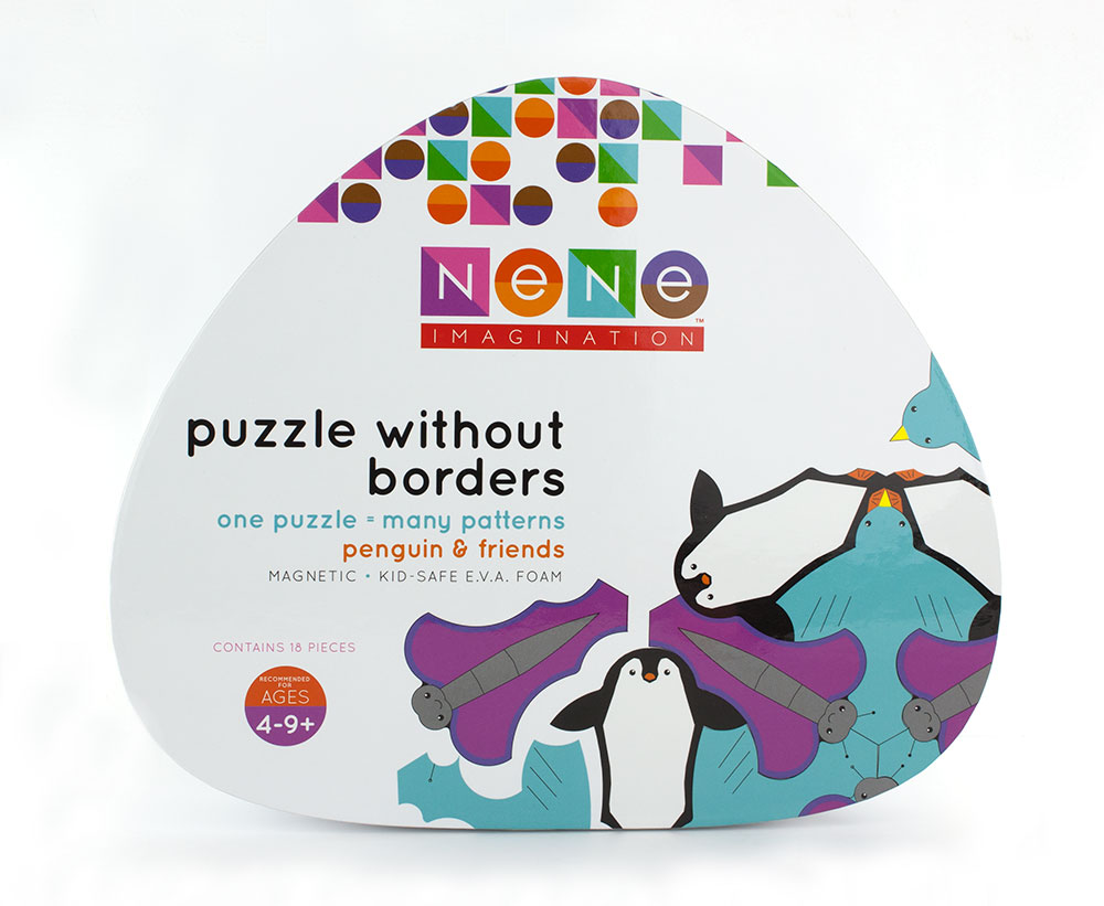 Nene Imagination Toy Packaging - White Box