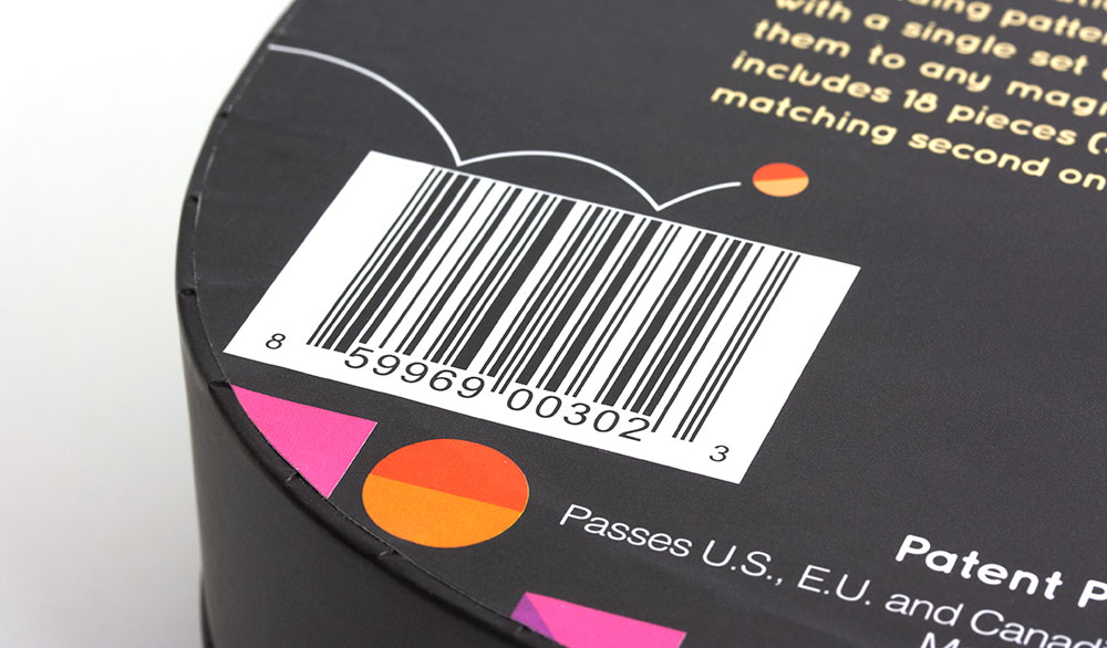 Nene Imagination Toy Packaging - Barcode
