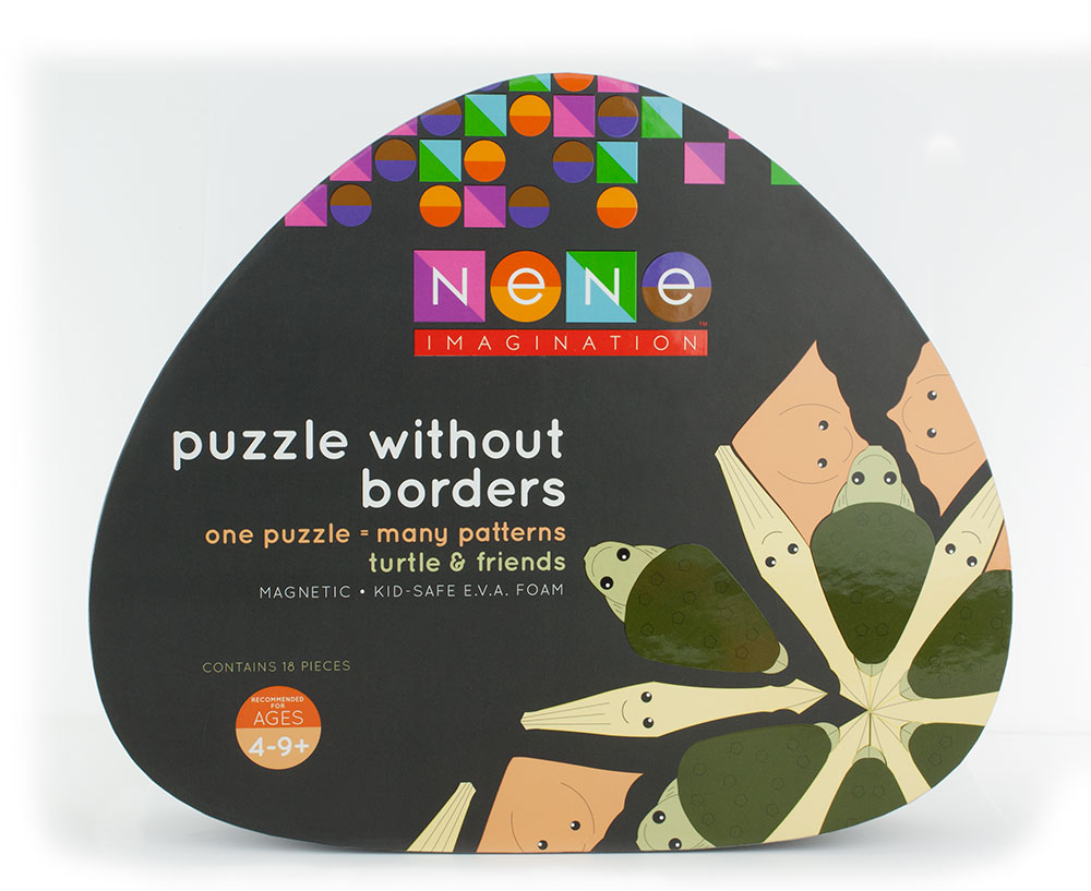 Nene Imagination Toy Packaging - Black