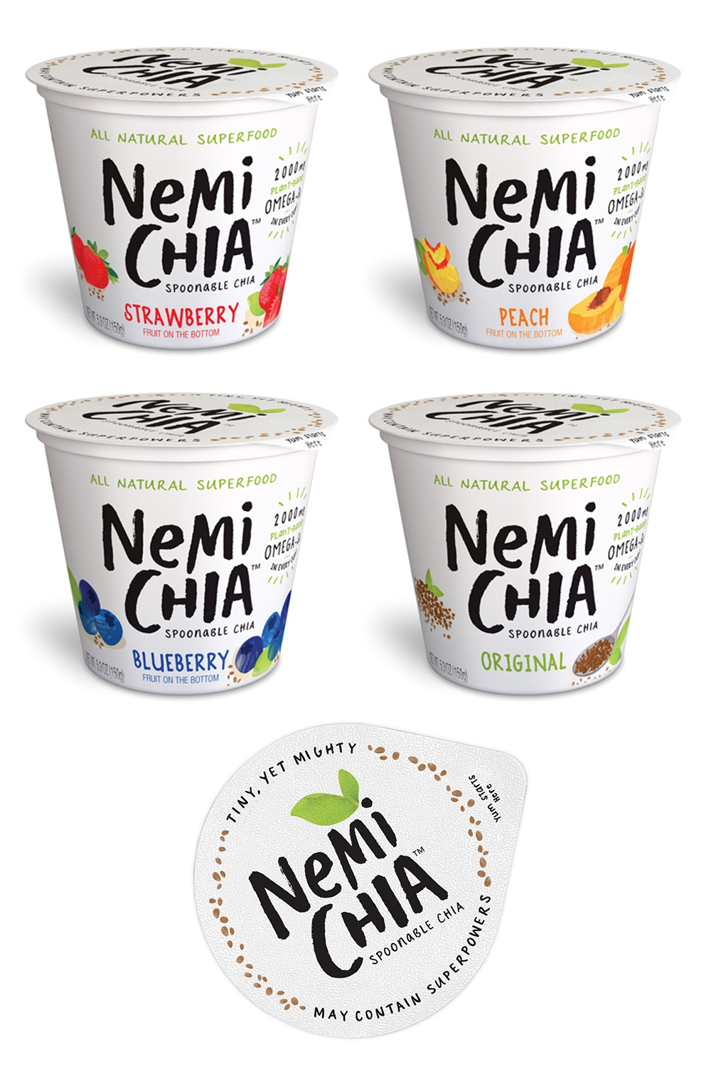 NemiChia - Brand Identity & Packaging Design