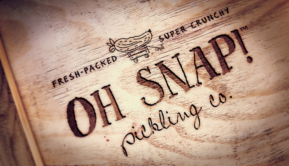 Brand Identity - Oh Snap Pickling Co.