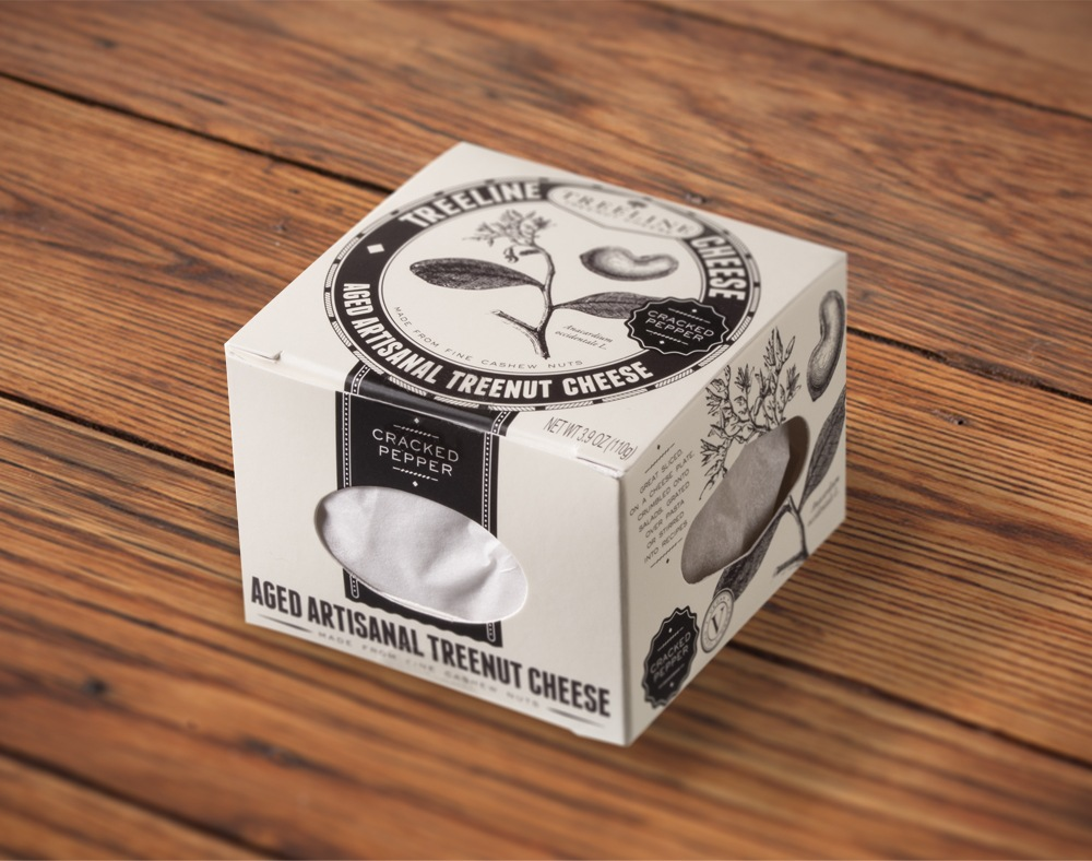 Treeline Treenut Cheese Packaging