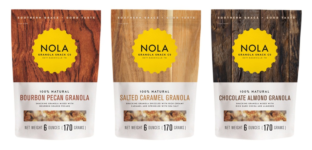 Nola Granola Packaging Design