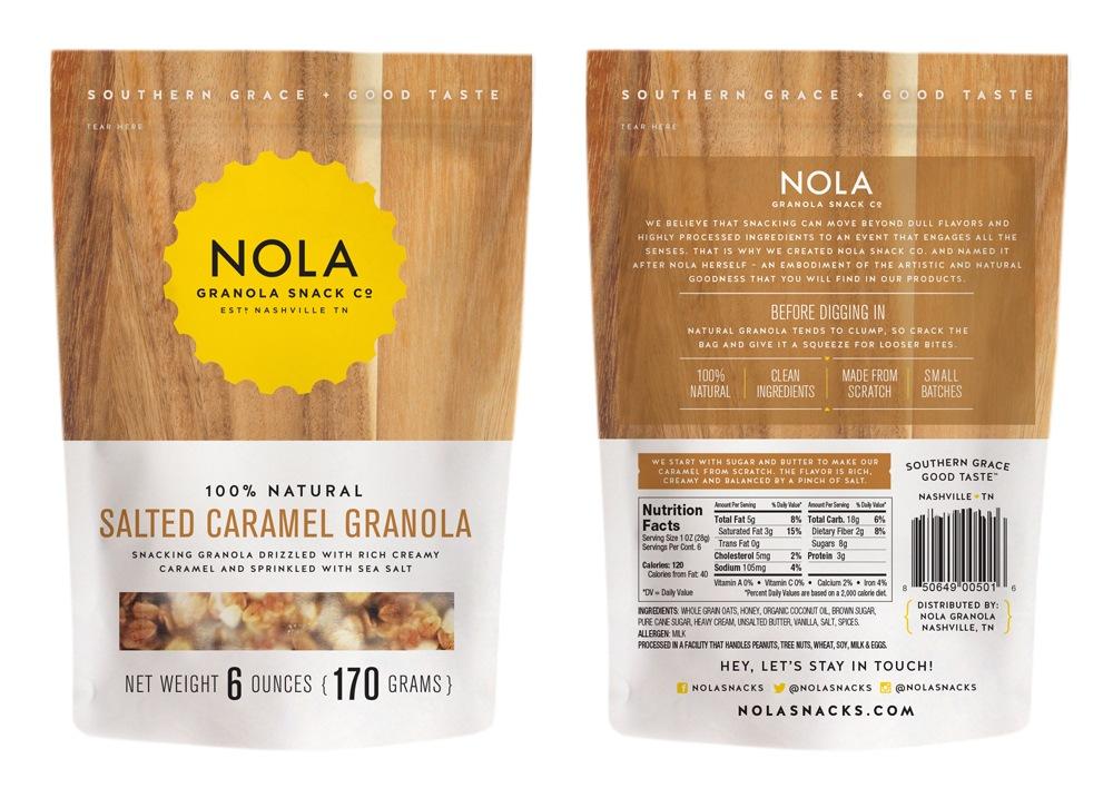 Nola Granola Caramel Package