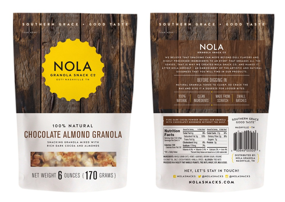Nola Granola Chocolate Package