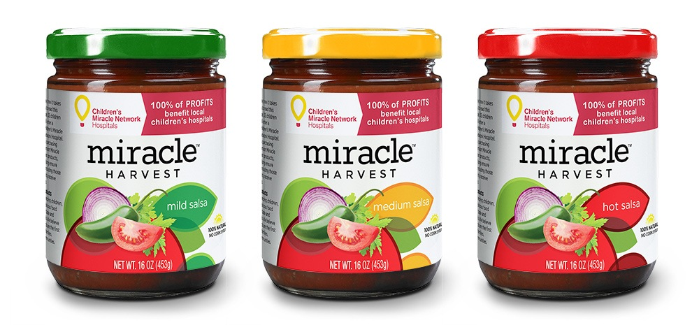 Miracle Harvest for Children's Miracle Network Hospitals® - Salsa Packaging & Branding