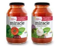 Miracle Harvest for Children's Miracle Network Hospitals® - Marinara Sauce Packaging & Branding