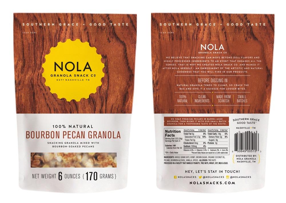 Nola Granola Pecan Package