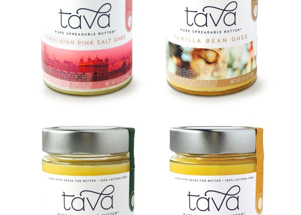 Tava - Flavored Ghee Jars - Branding & Packaging Design