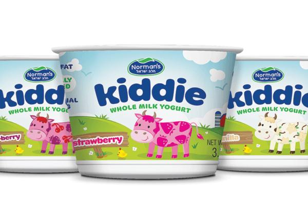 Norman's Kiddie Yogurt Packaging Design