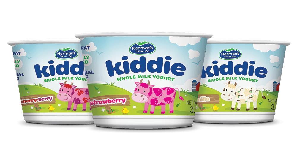 Norman's Kiddie Yogurt Packaging Design