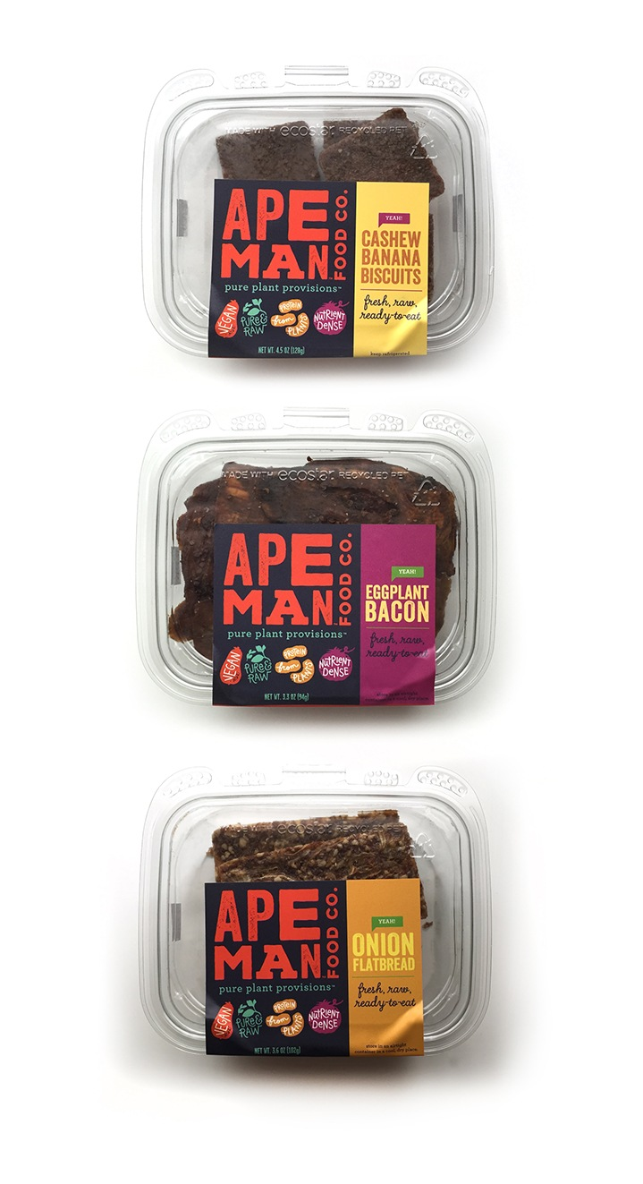 Ape Man Foods Raw Paleo Vegan Bread Packaging