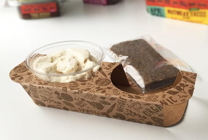 Ape Man Foods Raw Paleo Vegan Meal Kit Packaging Insert